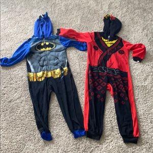 Boys fleece pajamas 6/7